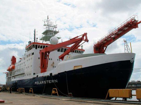 The German Arctic research vessel Polarstern