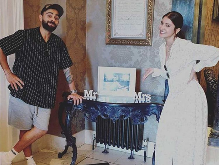 Virat Kohli and Anushka Sharma seal the silly moments in London