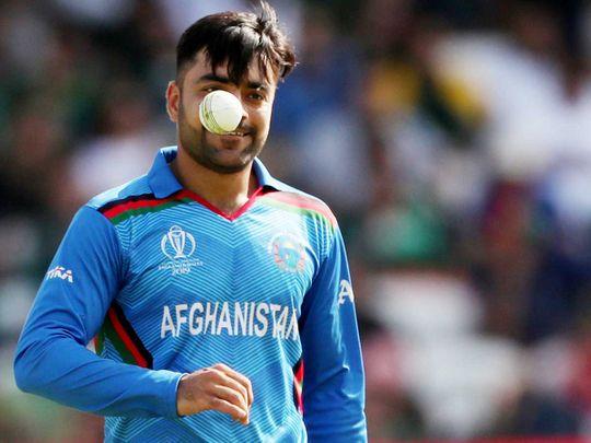 Afghanistan's Rashid Khan