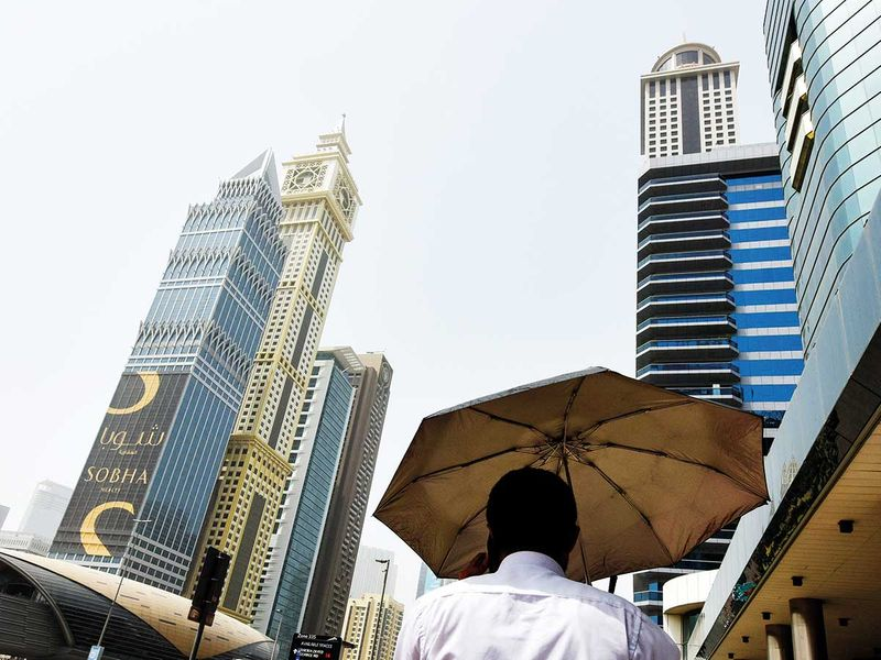 UAE weather: Hazy and dusty in Dubai, Abu Dhabi, partly cloudy in Fujairah, temperatures to go up to 49 °C