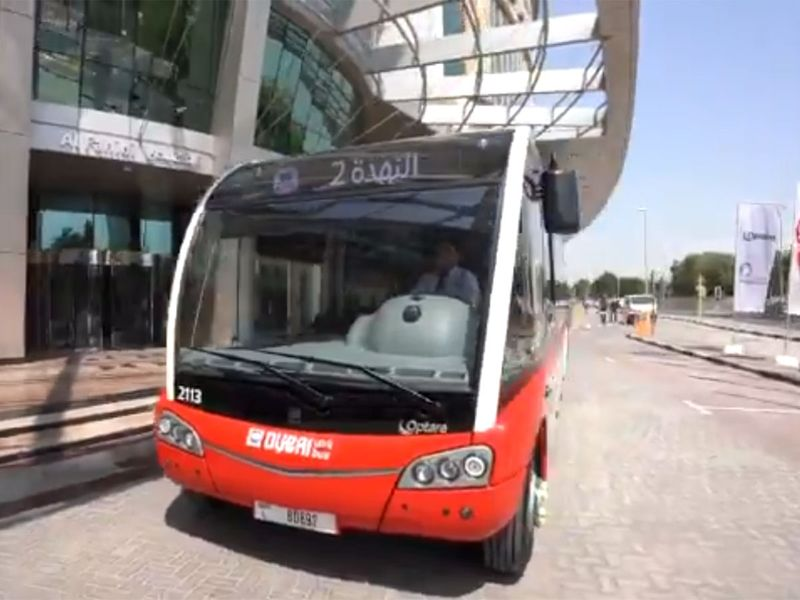 Dubai's new mini-buses