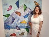 French artist Nathalie Beras was born in Martinique