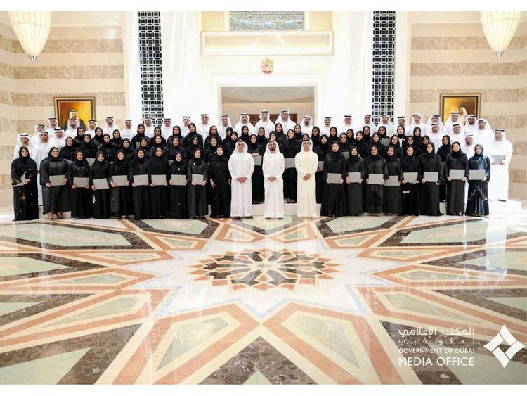 Shaikh Mohammad attends future grads 0101