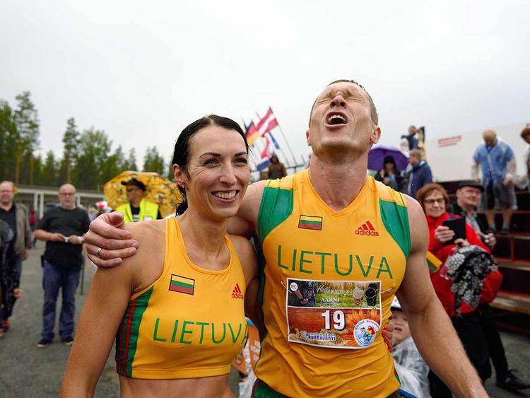 Vytautas Kirkliauskas and Neringa Kirkliauskiene