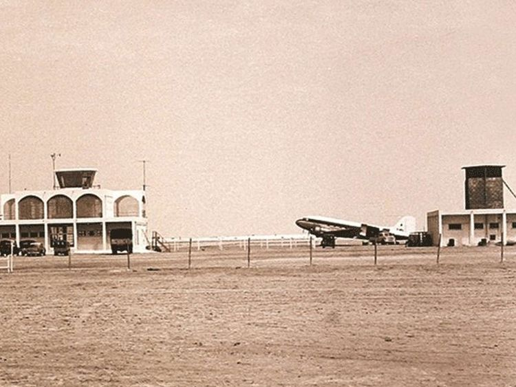Dubai Airport old photo