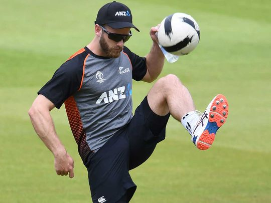 New Zealand's captain Kane Williamson