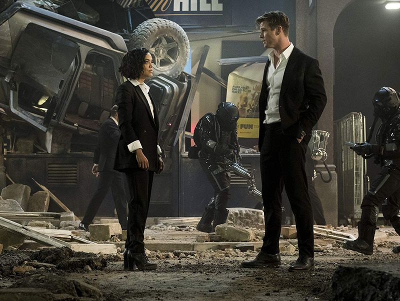 TAB 190709 Chris Hemsworth and Tessa Thompson in Men in Black  International-1562593358615