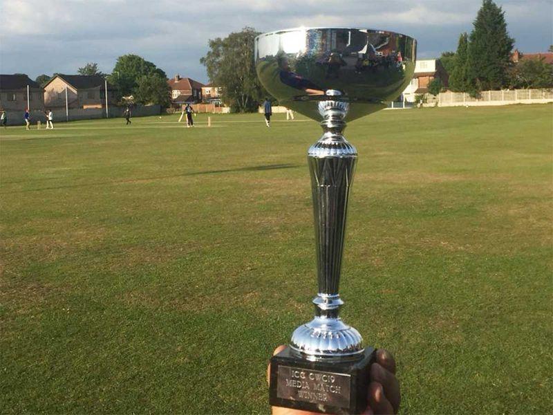 The winner's trophy.