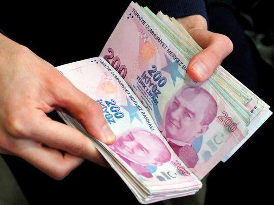 Turkey's lira plunges
