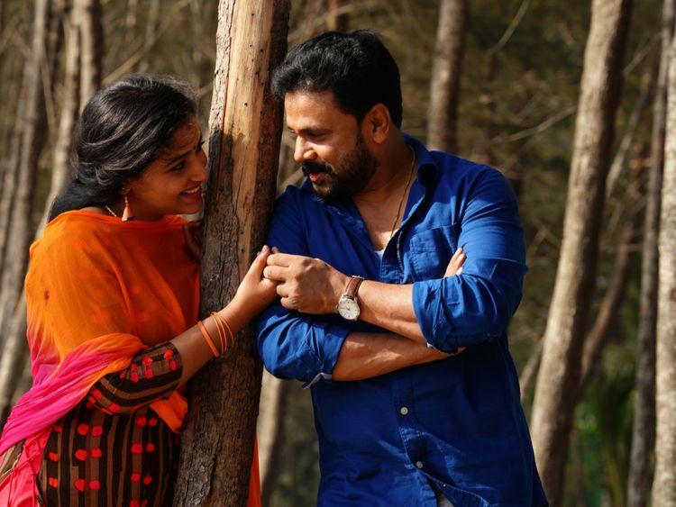 Anu Sithara with Dileep in Shubarathri-1562682662342