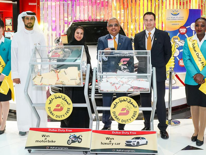 Two Indian expats win Dubai Duty Free Millennium Millionaire