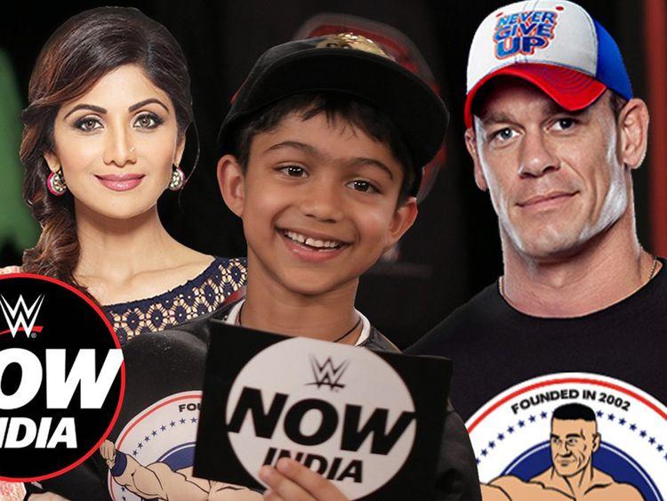 John Cena Shilpa Shetty son