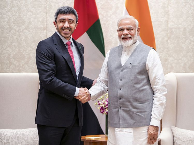 Modi Abdullah meeting 01121