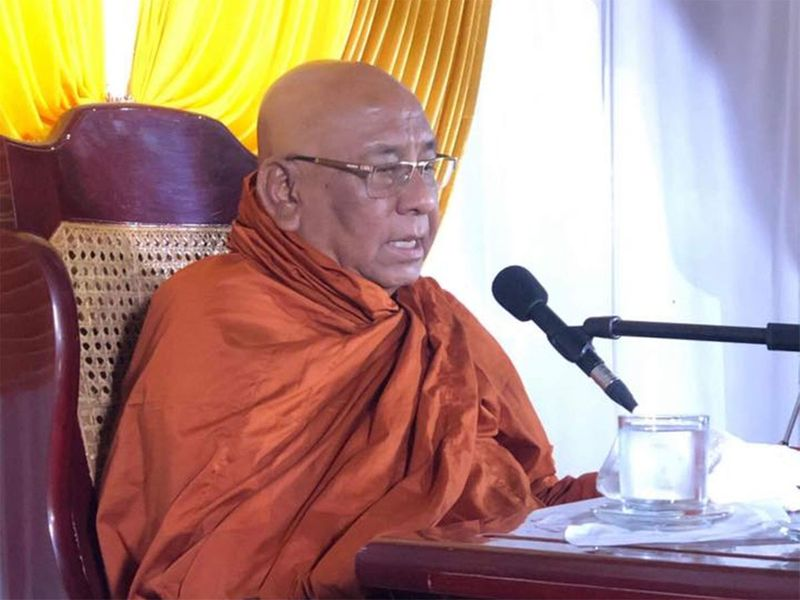 The Venerable Ashin Nyanissara, known more commonly as Sitagu Sayadaw, 82