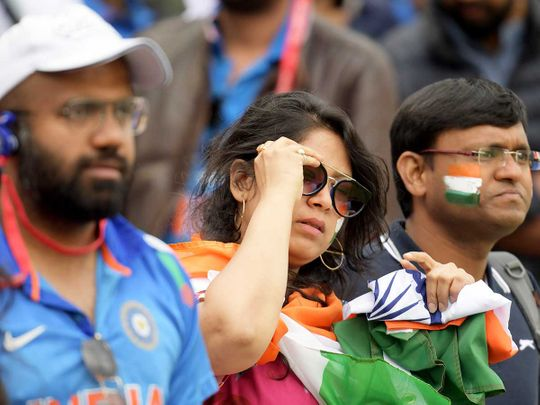 India fans react