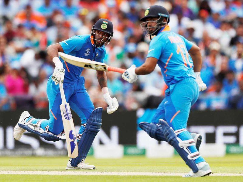 India's Hardik Pandya and Rishabh Pant