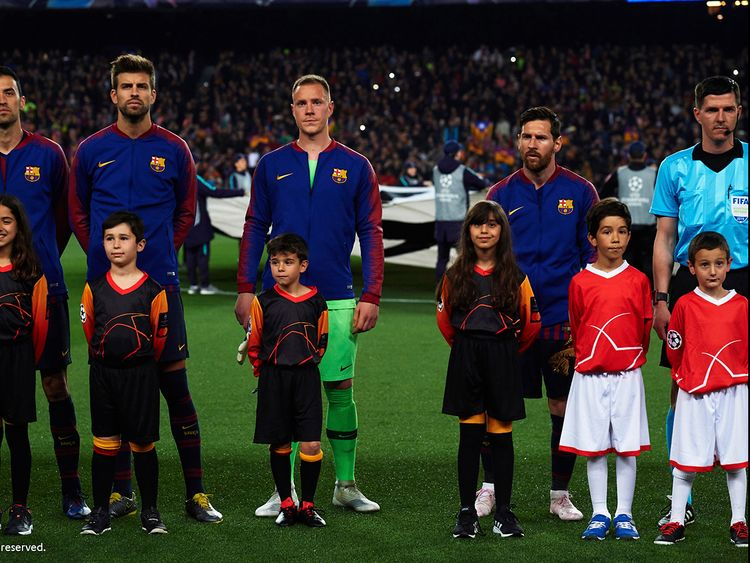 d92ad0de8 Meeting football legend Lionel Messi : A dream come true for this  7-year-old Emirati