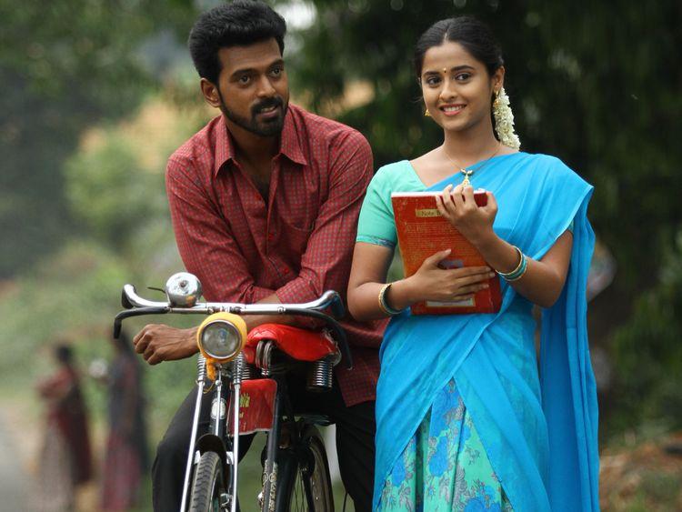 Vikranth with Arthana Binu-a scene from the sports drama 'Vennila Kabadi Kuzhu 2' (2)-1562737353484