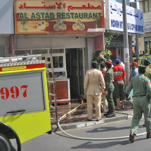Fire scare at Bur Dubai restaurant | Uae – Gulf News