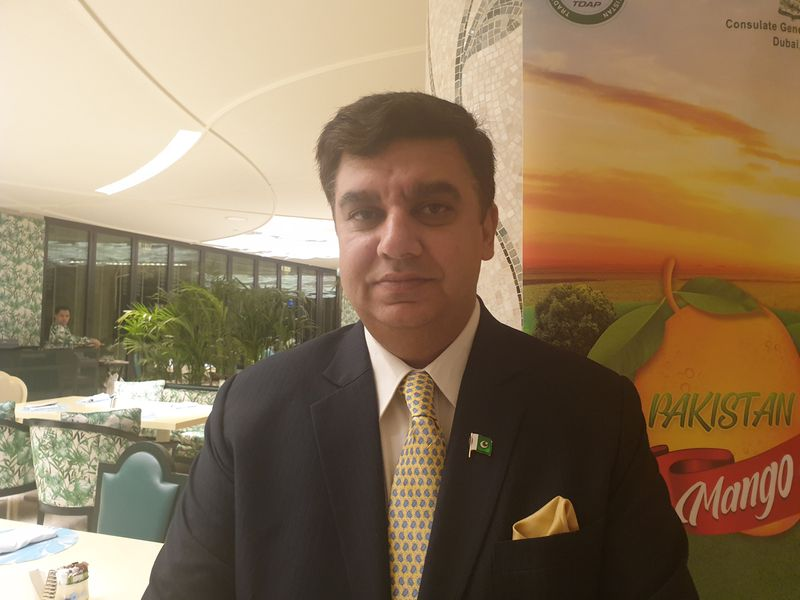 Ahmad Amjad Ali Consul General of Pakistan