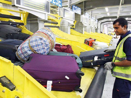 Luggage, Dubai Airport