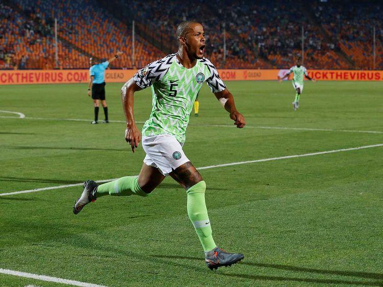 Nigeria's William Troost-Ekong