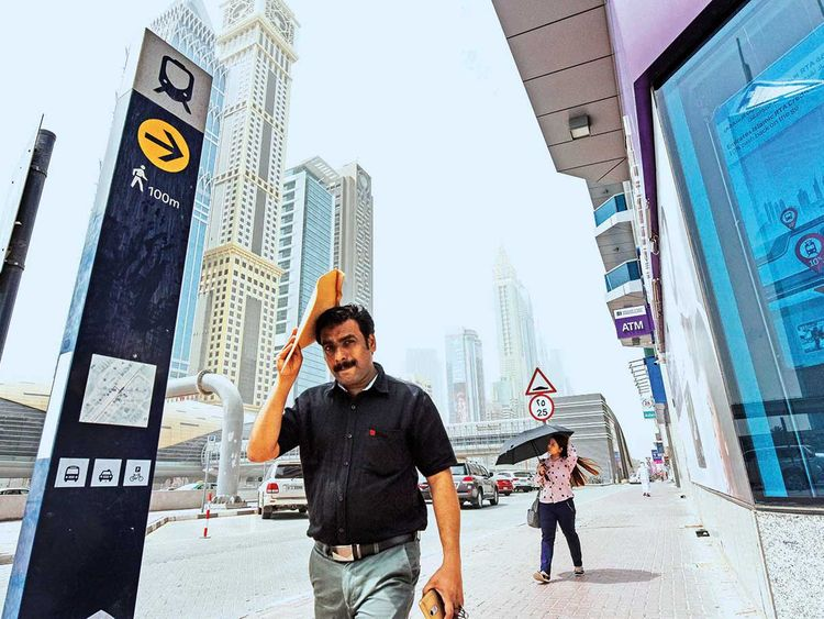 Warm, humid day ahead, partly cloudy in Abu Dhabi | Weather
