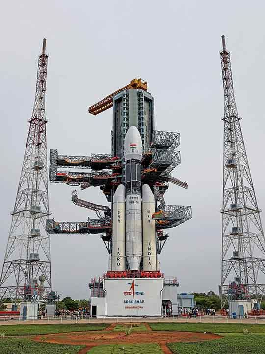 Chandrayaan launcher 20190712