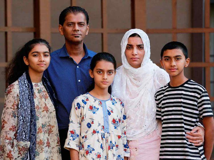 Family members of Santa Fe High School shooting victim Sabika Aziz Shaikh 20190712