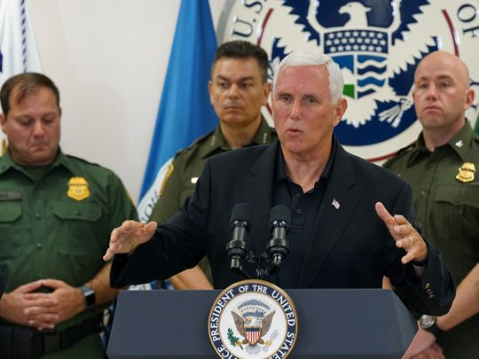 2019-07-13T022854Z_1930429830_RC1AB76A7570_RTRMADP_3_USA-IMMIGRATION-PENCE-(Read-Only)