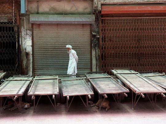 Pakistani traders strike