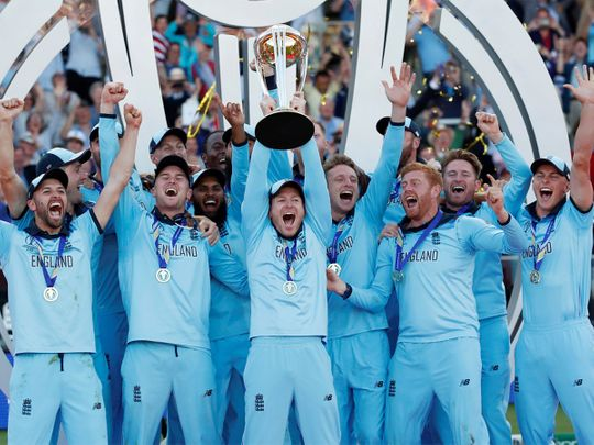 Cricket - ICC Cricket World Cup Final - New Zealand v England - Lord's, London, Britain - July 14, 2019