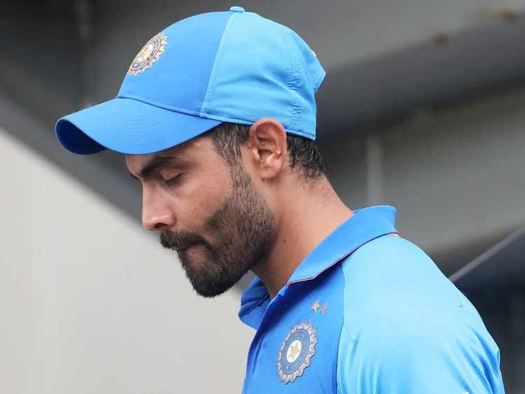 Cricket World Cup: Ravindra Jadeja was inconsolable after India's