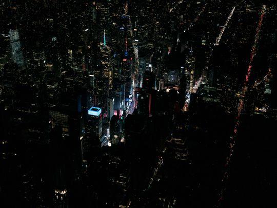 Manhattan blackout
