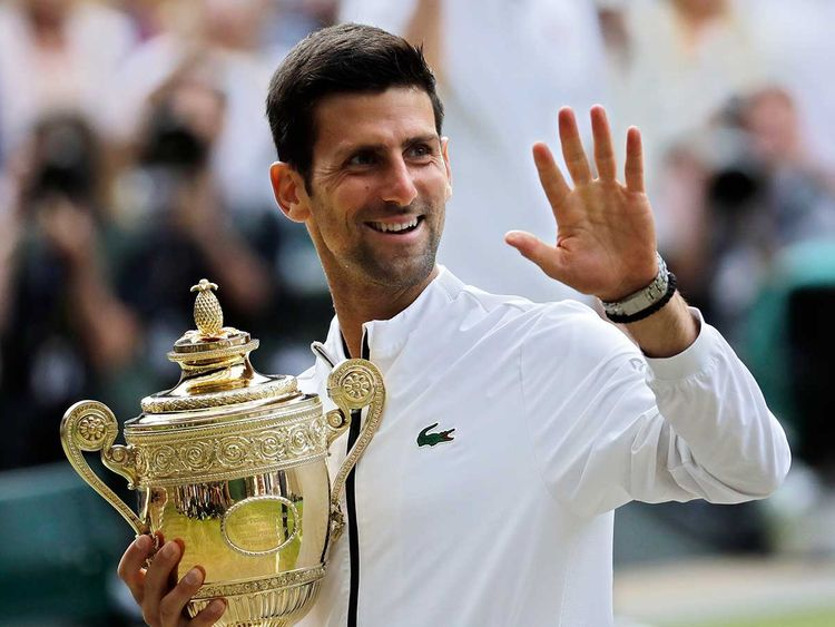 The Rise Of A Tennis Great How Novak Djokovic Became A Goat Contender Sports Photos Gulf News