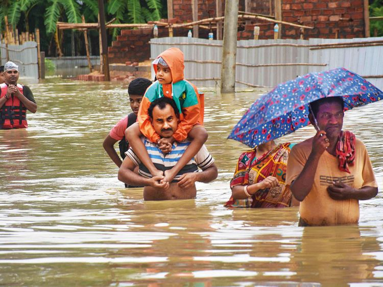 Flood situation worsens in Bihar | India – Gulf News