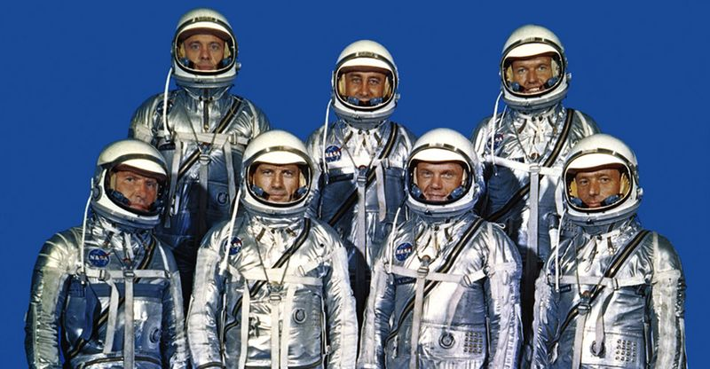 Project Mercury Original Seven