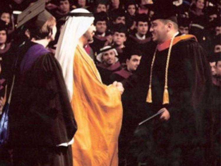 Shaikh Mohammad Bin Rashid Al Maktoum confers Mahmoud ElBurai