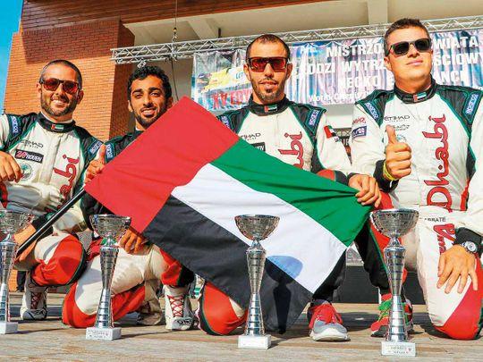 Team Abu Dhabi clinch world endurance crown in Poland