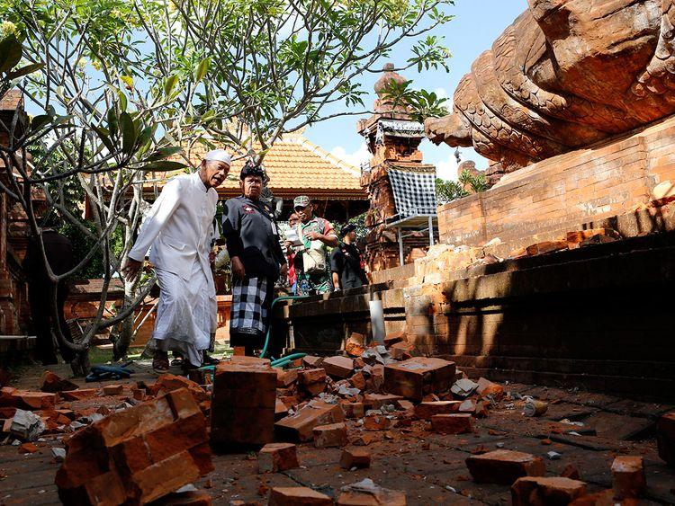 190716 Bali, Indonesia quake