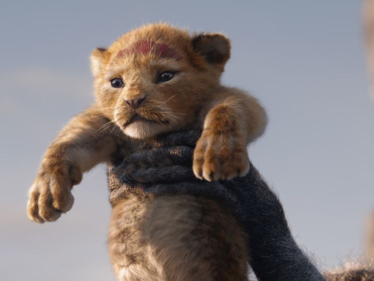 A FUTURE KING IS BORN - In Disney's all-new The Lion King,. ┬®2019 Disney Enterprises, Inc. All Rights Reserved-1563281603941