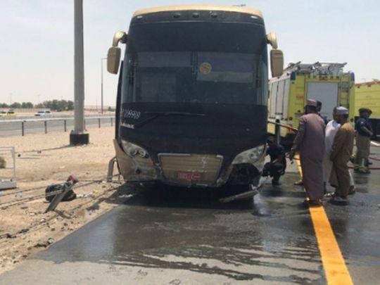 Abu Dhabi bus crash