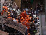 Mumbai, India, building collapse