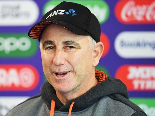 New Zealand's head coach Gary Stead