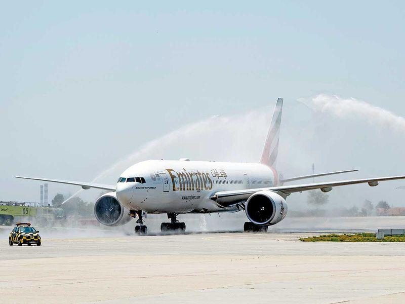 Emirates' Boeing 777
