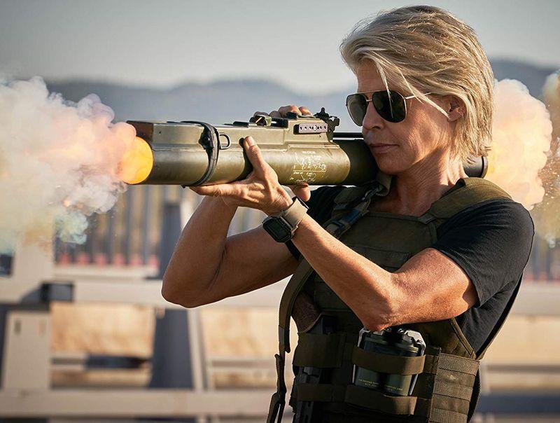 Linda Hamilton in Terminator  Dark Fate-1563350032219