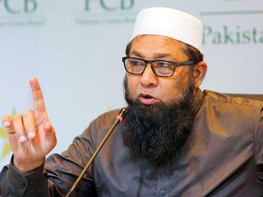 Pakistan cricket chief selector Inzamam-ul-Haq