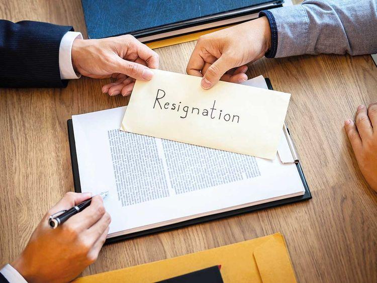 190718 generic resignation