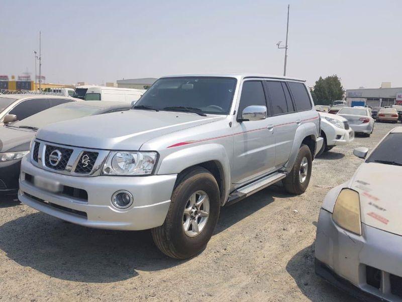 Ajman impounded car
