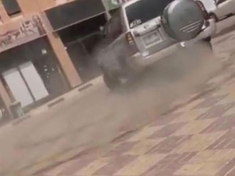 Ajman reckless driver